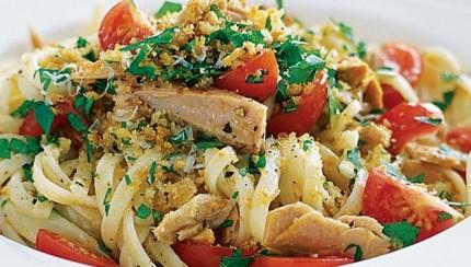 Špageti s tunjevinom, tuna