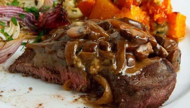 Biftek s šampinjonima, biftek, šampinjoni, kako smršaviti